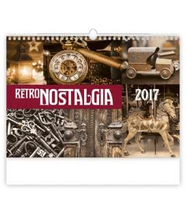 Wall calendar Retro Nostalgia 2017