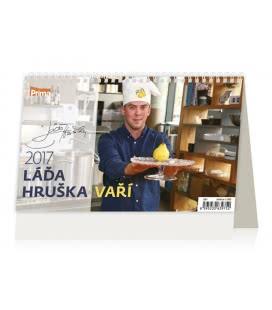 Tischkalender Láďa Hruška vaří 2017