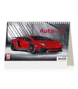 Tischkalender Auta 2017