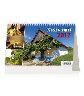 Stolní kalendář Naši Vinaři 2017