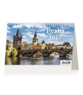 Table calendar Praha 2017