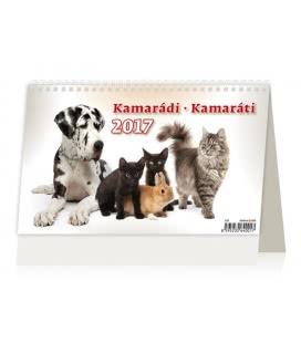 Stolní kalendář Kamarádi/Kamaráti 2017