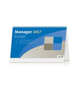 Table calendar Manager Europe 2017