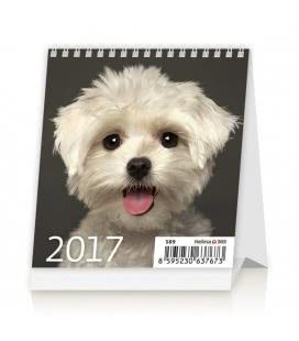 Stolní kalendář Mini Puppies 2017