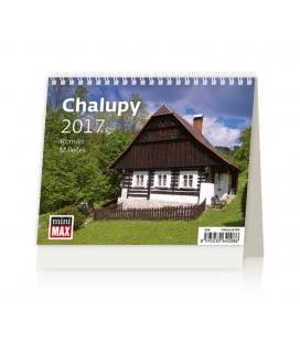 Table calendar MiniMax Chalupy 2017