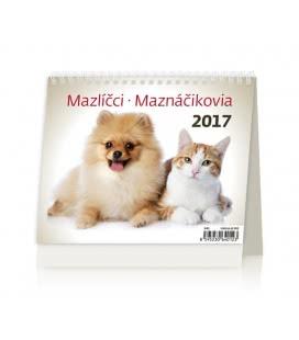 Table calendar MiniMax Mazlíčci/Maznáčikovia 2017