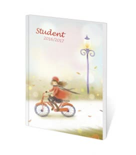 Pocket Diary Poketto - Student - Girl 2017