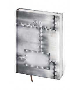 Weekly Diary A5 Vario - Steel 2017