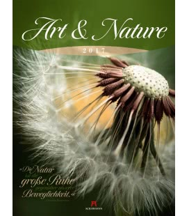 Wall calendar Art & Nature 2017
