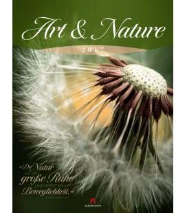 Wandkalender Art & Nature 2017