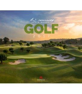 Nástěnný kalendář Golf 2017