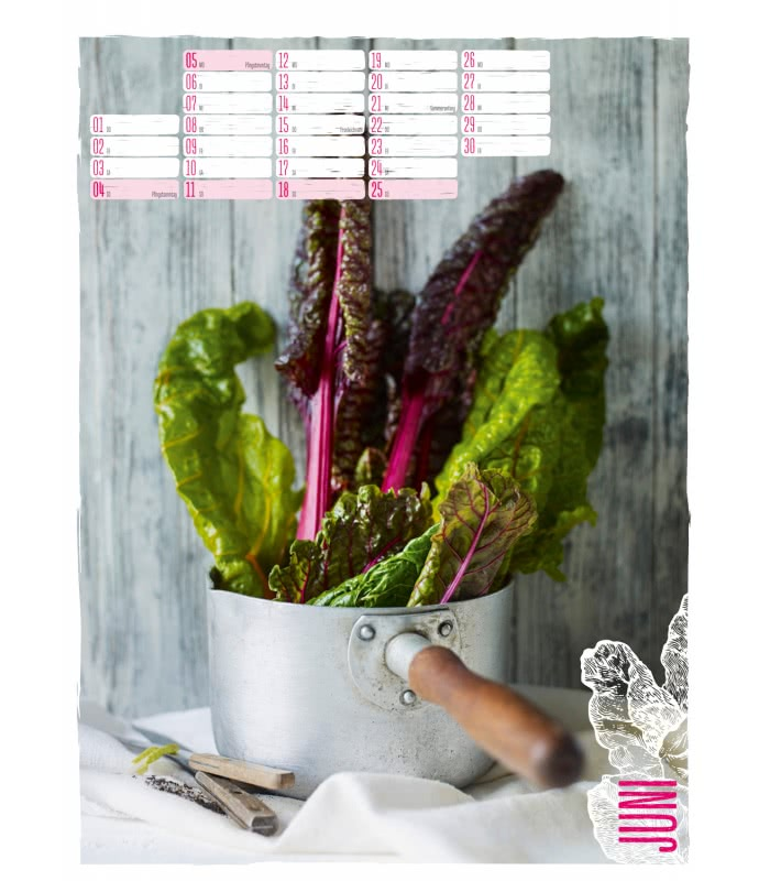 Grüne Küche wall calendar grüne küche 2017