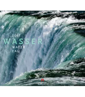 Nástěnný kalendář Voda / Wasser 2017