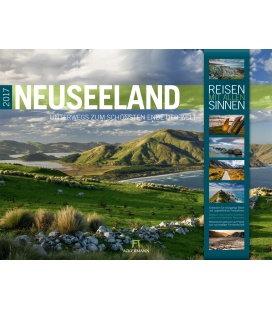 Wall calendar Neuseeland 2017