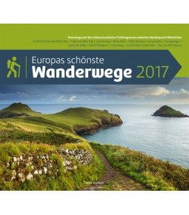 Wall calendar Europas schönste Wanderwege 2017