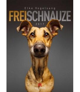Wall calendar Frei Schnauze 2017
