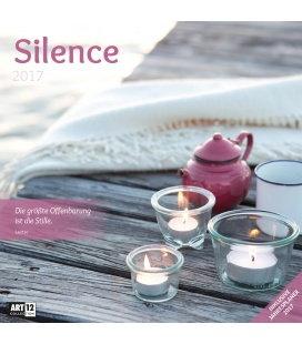 Wandkalender Silence 30 x 30 cm 2017