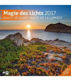 Wandkalender Magie des Lichts 30 x 30 cm 2017