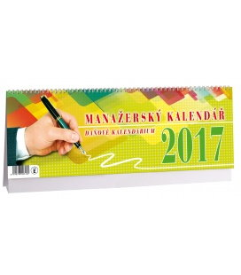 Table calendar Manažerský 2017