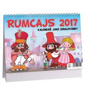 Table calendar Rumcajs - omalovánky 2017