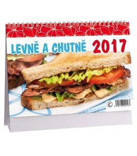 Stolní kalendář Levně a chutně 2017