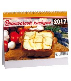 Stolní kalendář Bramborová kuchyně 2017