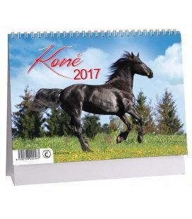 Stolní kalendář Koně 2017