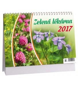 Table calendar Zelená lékárna 2017