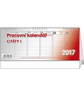 Table calendar - Citáty I. 2017