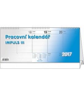 Table calendar - Impuls III. 2017