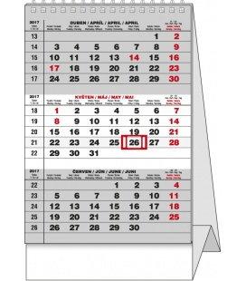 Stolní kalendář - Mini Tříměsíční 2017