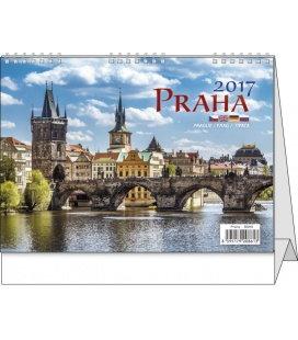 Table calendar - Praha 2017