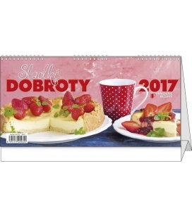 Table calendar - Sladké dobroty 2017