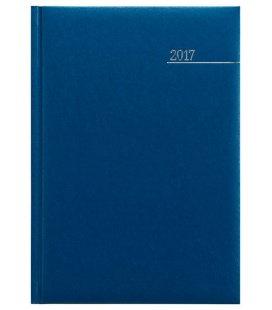 Weekly Diary A5 Kronos modrý 2017