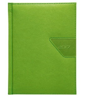 Daily Diary B6 Agama green without fastener 2017