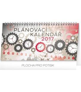 Stolní kalendář Plánovací 2017