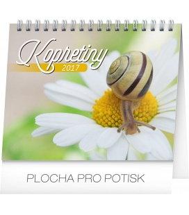 Table calendar Kopretiny s citáty 2017