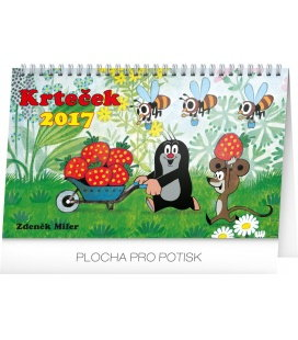 Table calendar Krteček 2017