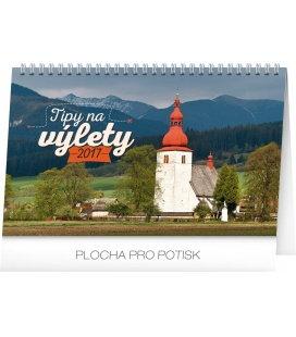 Stolní kalendář Tipy na výlety SK 2017