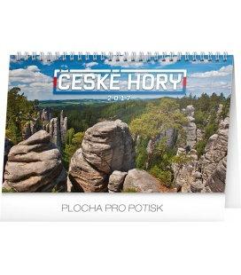 Table calendar České hory 2017
