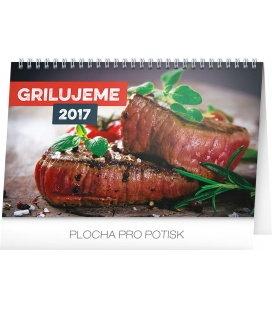 Stolní kalendář Grilujeme 2017