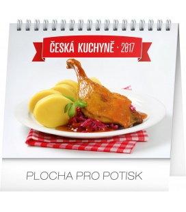 Table calendar Česká kuchyně 2017