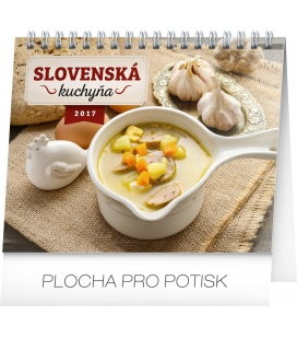 Table calendar Slovenská kuchyňa SK 2017