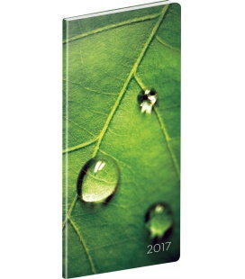 Pocket Diary planning monthly Detail 2017
