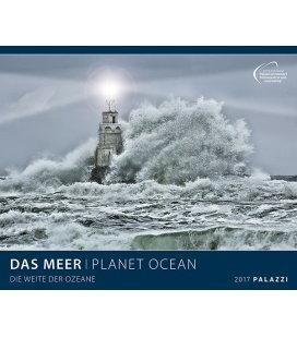 Nástěnný kalendář Moře, planeta oceánu 2017 / DAS MEER I PLANET OCEAN 2017