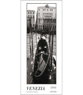 Nástěnný kalendář Benátky - věčný kalendář - PANORAMA / VENEZIA I BLACK & WHITE 2017