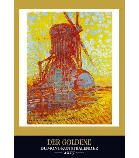 Wall calendar Goldener Kunstkalender 2017