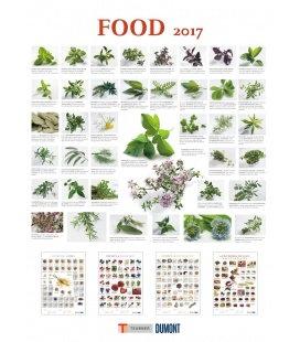 Wall calendar Food 2017