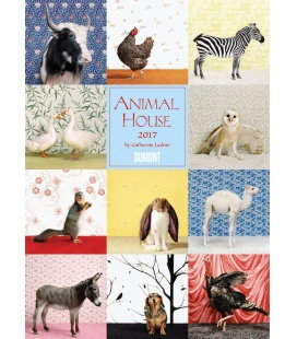 Wall calendar Animal House 2017