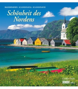 Wall calendar Schönheit des Nordens 2017
